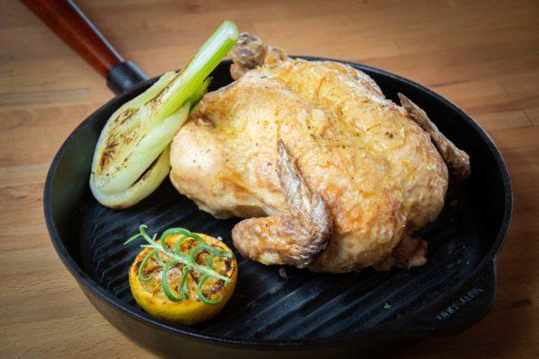 H&Gs Kök på Tomelilla golfrestaurang - kyckling